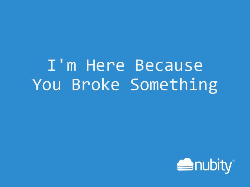Hello Nubity's blog!