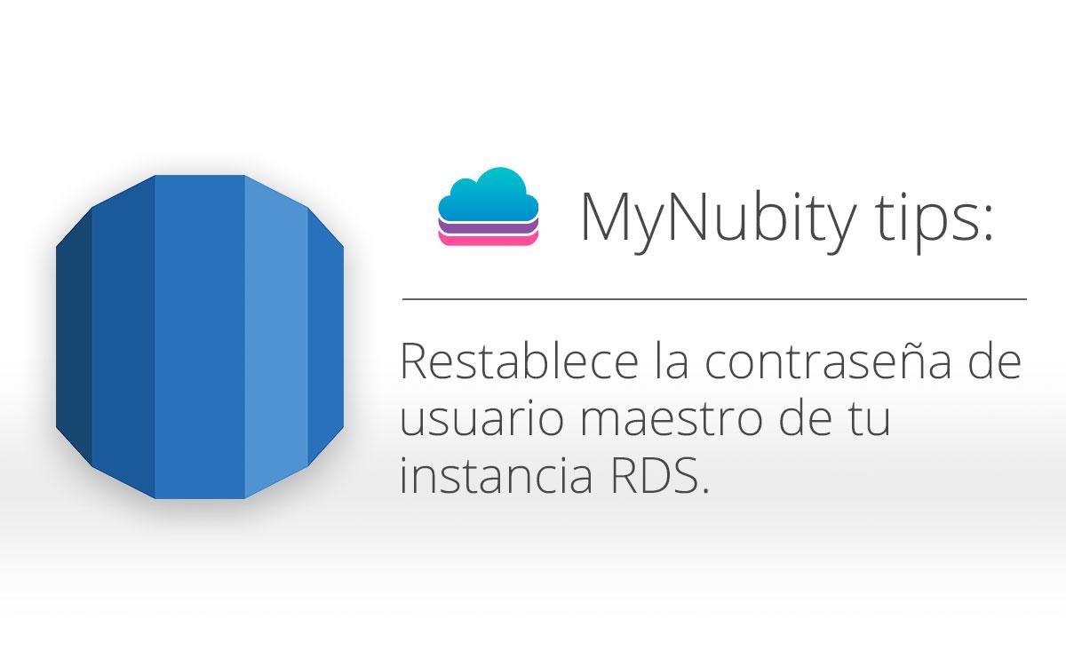 [Tutorial] Restablece la contraseña de usuario maestro de RDS