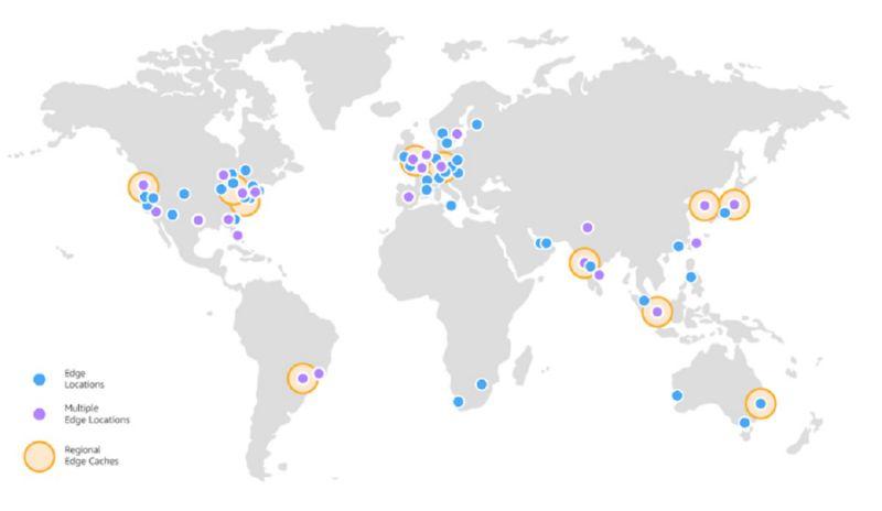AWS anuncia nueva ubicación de Amazon CloudFront en Argentina.
